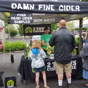 2 Towns Hard Cider this Saturday!